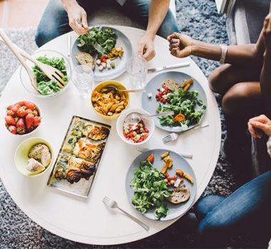 Healthy food menu Weight control